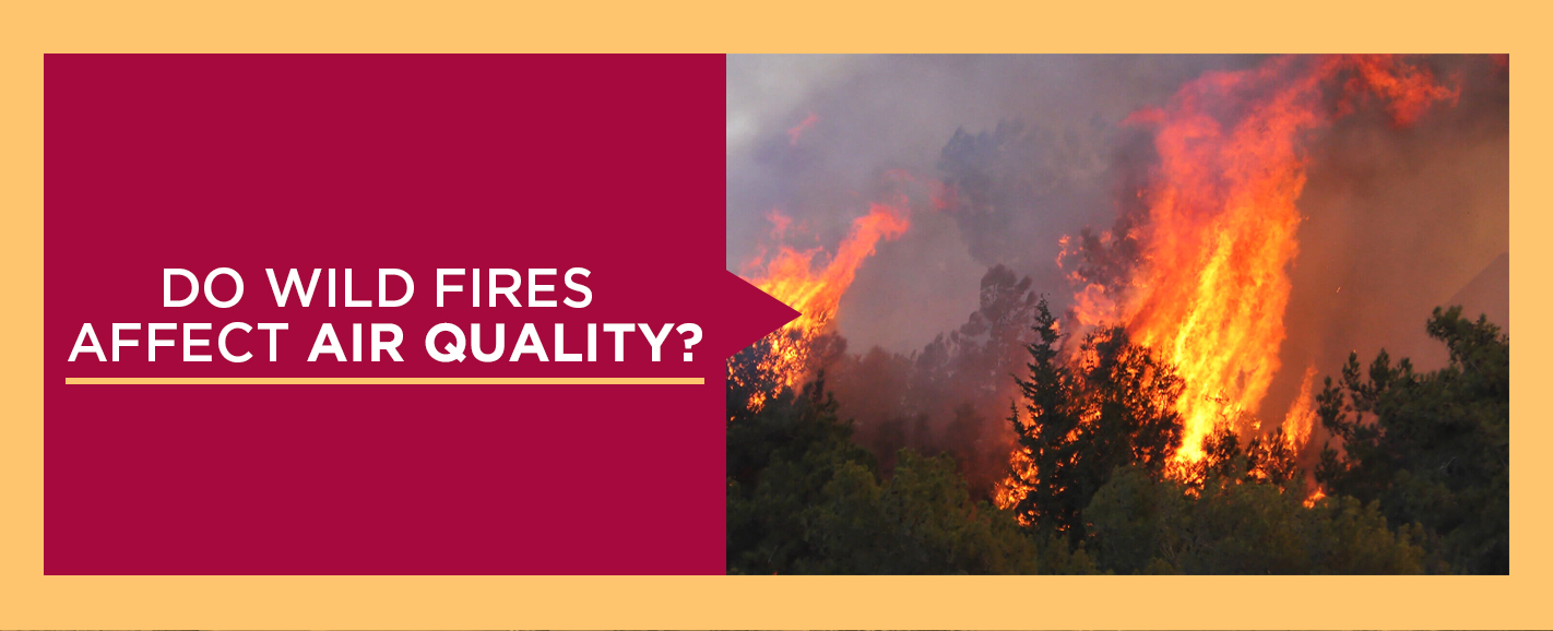do wild fires affect air quality