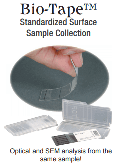 bio-tape standardized surface sample collection