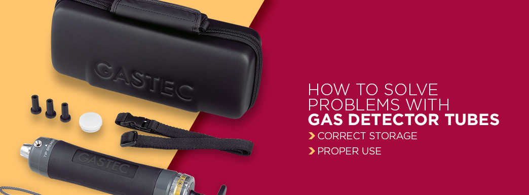 how to solve problems with gas detector tubes