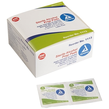Picture of ALCOHOL PREP PADS, 200/BX