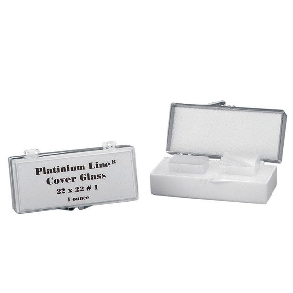 Picture of COVER GLASS 18mm x 18mm, 1.0 THICK, 1oz