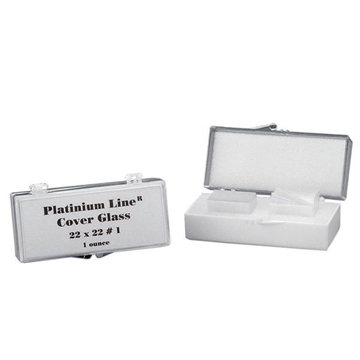 Picture of COVER GLASS 18mm x 18mm, 1.5 THICK, 1oz