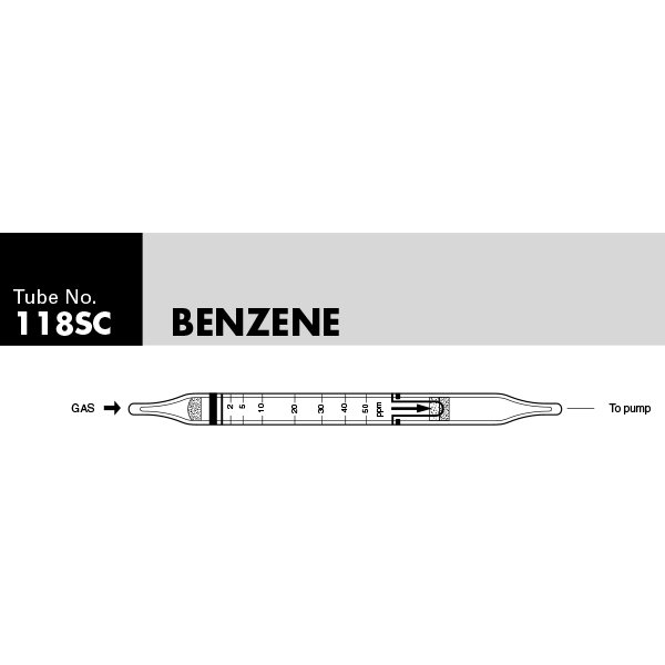 Picture of DETECTOR TUBE, BENZENE, 10/BX