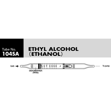 Picture of DETECTOR TUBE, ETHYL ALCOHOL, 10/BX