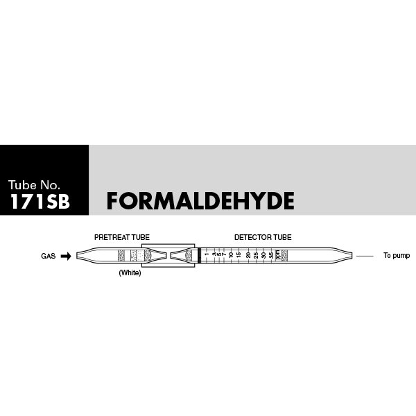 Picture of DETECTOR TUBE, FORMALDEHYDE, 5/BX