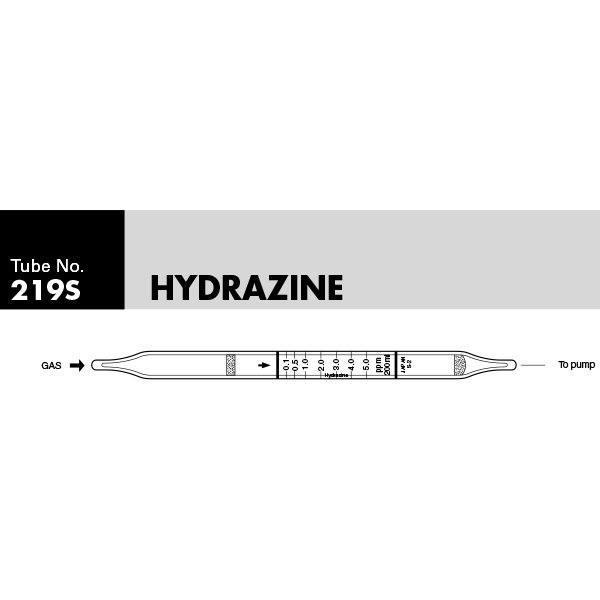 Picture of DETECTOR TUBE, HYDRAZINE, 10/BX