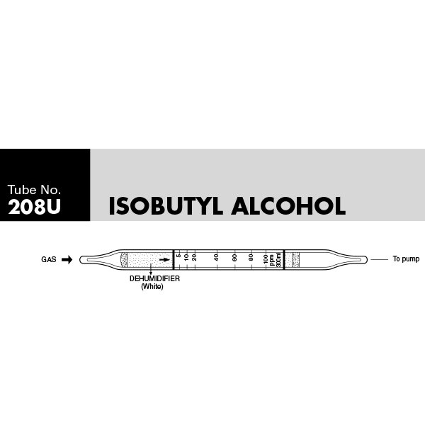 Picture of DETECTOR TUBE, ISOBUTYL ALCOHOL, 10/BX
