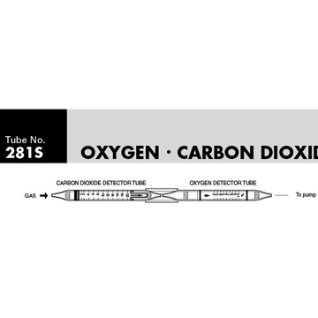Picture of DETECTOR TUBE, OXYGEN & CARBON DIOXIDE, 5/BX