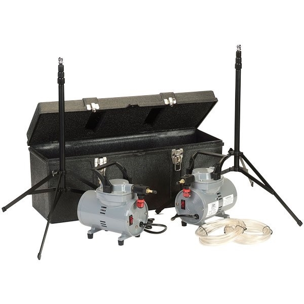 Picture of PUMP, DIAPHRAGM, HIGH VOLUME, 2 PUMP KIT, 120V