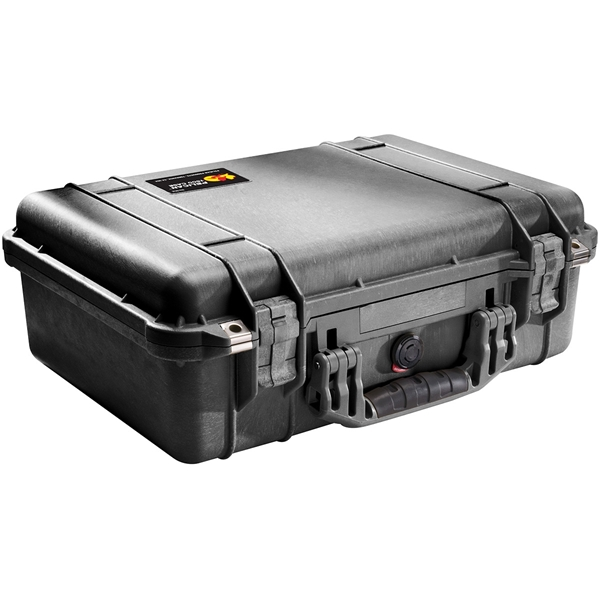 Picture of CASE, PELICAN 1500, BLACK, w/ PICK-PLUCK FOAM