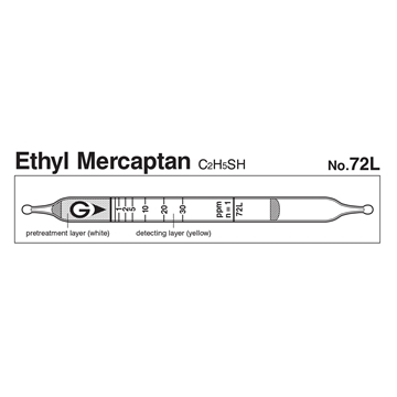 Picture of DETECTOR TUBE, ETHYL MERCAPTAN, 10/BX