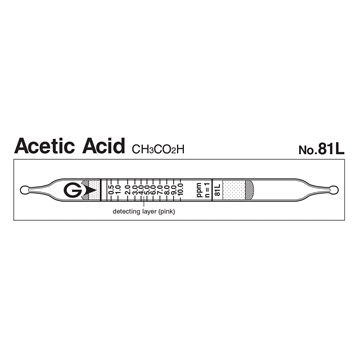 Picture of DETECTOR TUBE, ACETIC ACID, 10/BX