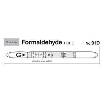 Picture of DOSIMETER TUBE, FORMALDEHYDE, 10/BX
