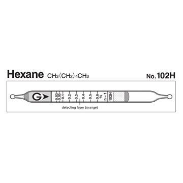Picture of DETECTOR TUBE, HEXANE, 10/BX