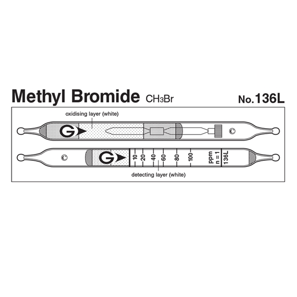 Picture of DETECTOR TUBE, METHYL BROMIDE, 5/BX
