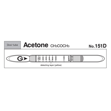 Picture of DOSIMETER TUBE, ACETONE, 10/BX