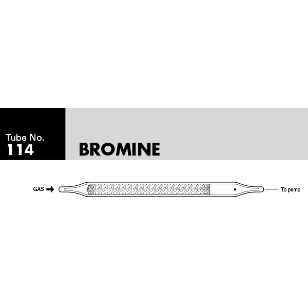 Picture of DETECTOR TUBE, BROMINE, 10/BX