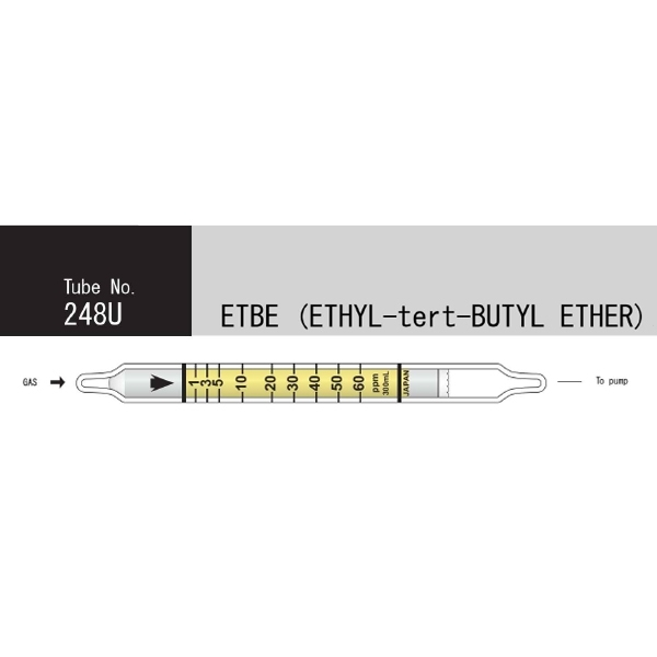 Picture of DETECTOR TUBE, ETHYL-TERT-BUTYL ETHER, 10/BX