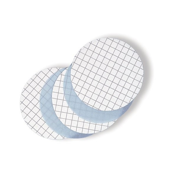 Picture of FILTER, MCE, 0.45µm, 47MM, BLACK GRID, 100/PK