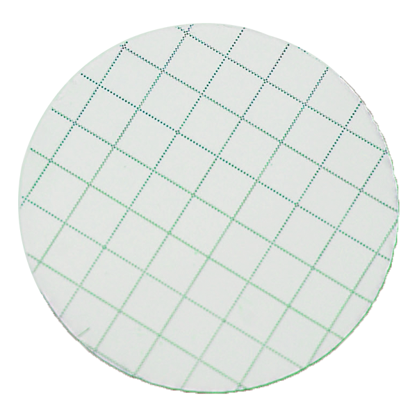 Picture of FILTER, MCE, 0.8µm, 25MM, GREEN GRID, 100/PK