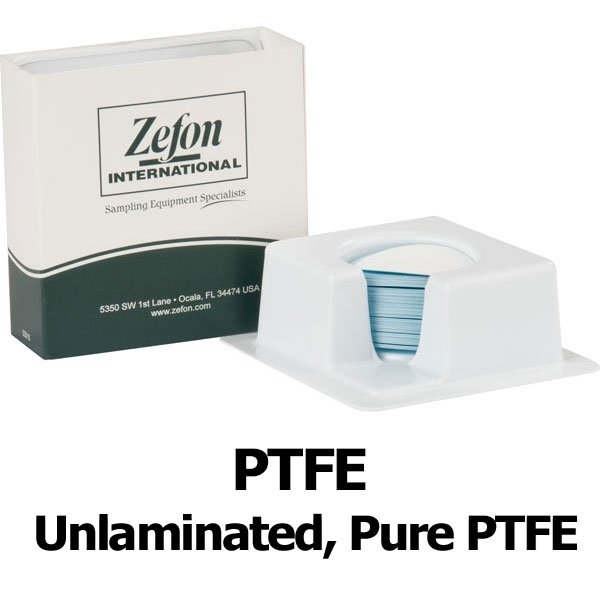Picture of FILTER, PTFE UNLAMINATED, 5.0µm, 47MM, 50/PK