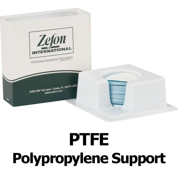 Picture of FILTER, PTFE W/PP SUPP, 0.45µm, 47MM, 100/PK