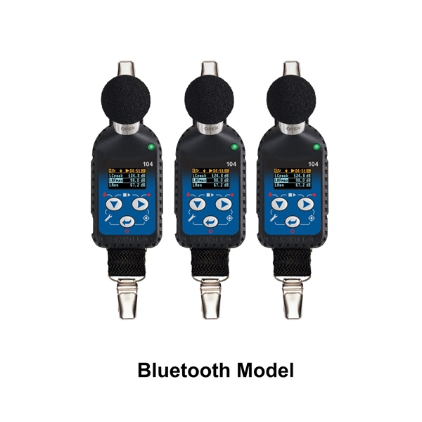 Picture of NOISE DOSIMETER, SV 104A, BT, W/CAL, 3 PK DLX KIT