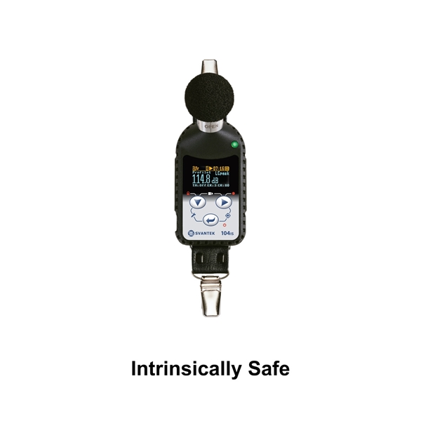 Picture of NOISE DOSIMETER, SV 104IS, W/O CAL, DLX KIT