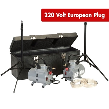 Picture of PUMP, DIAPHRAGM, HIGH VOLUME, 2 PUMP KIT, 220V