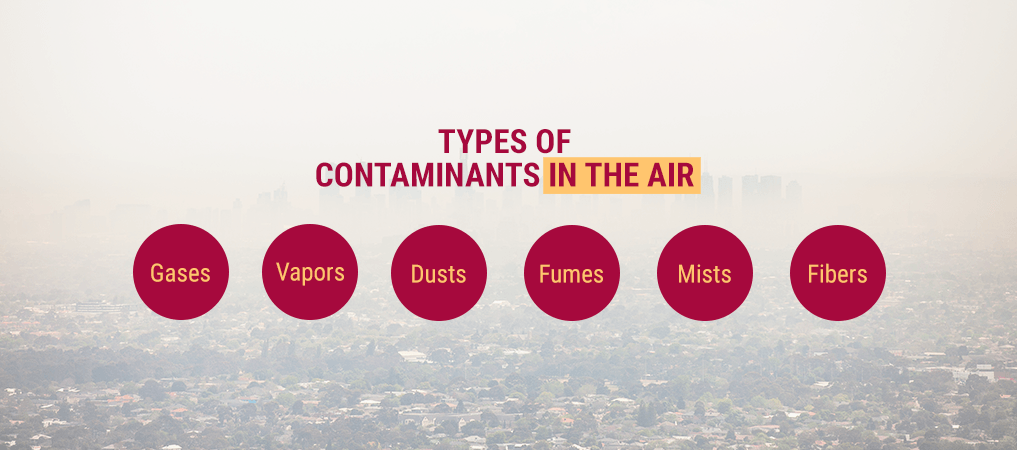 Types of Contaminants in the Air